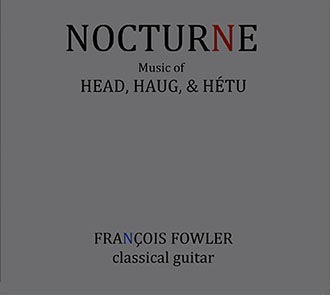 CD Cover for Nocturne